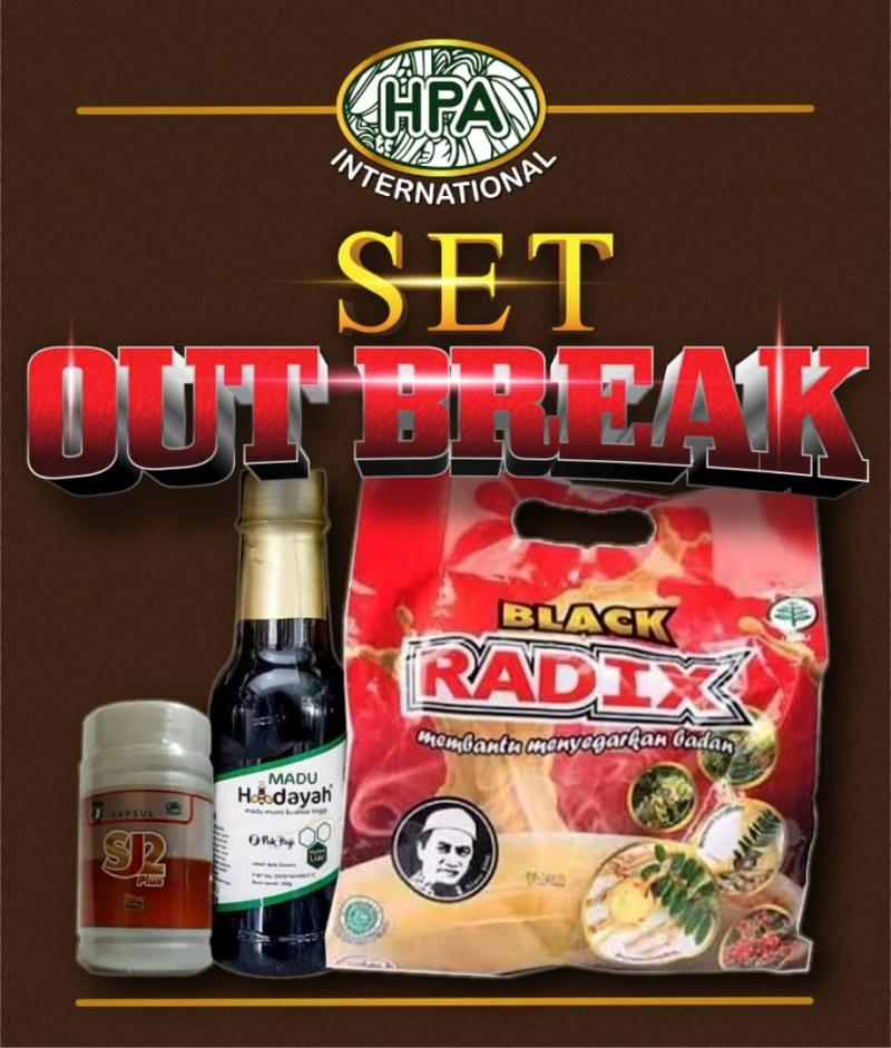 Set Out Break Pak Haji