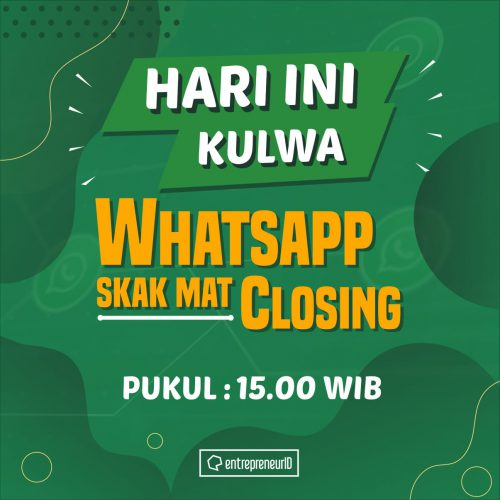 WhatsApp Skakmat Closing