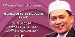 Kuliah Herba Tuan Haji - 24 Juni 2020 - Permasalahn di Jantung