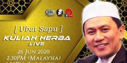 Kuliah Herba Tuan Haji - 26 Juni 2020 - Ubat Sapu