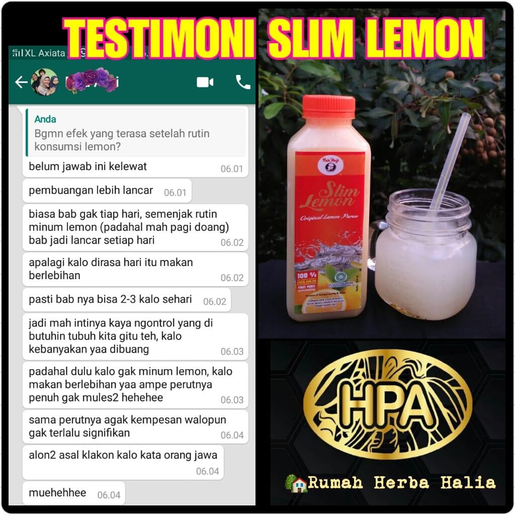 Testimoni Slim Lemon 1