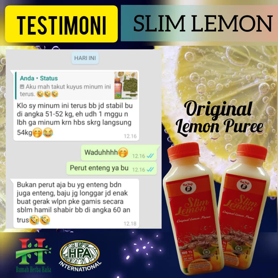 Testimoni Slim Lemon 4