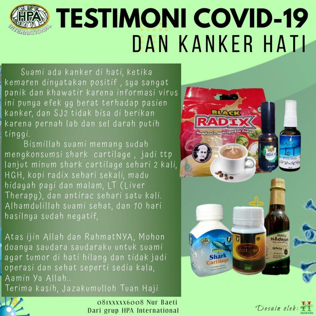 Testimoni COVID-19 dan Kanker Hati