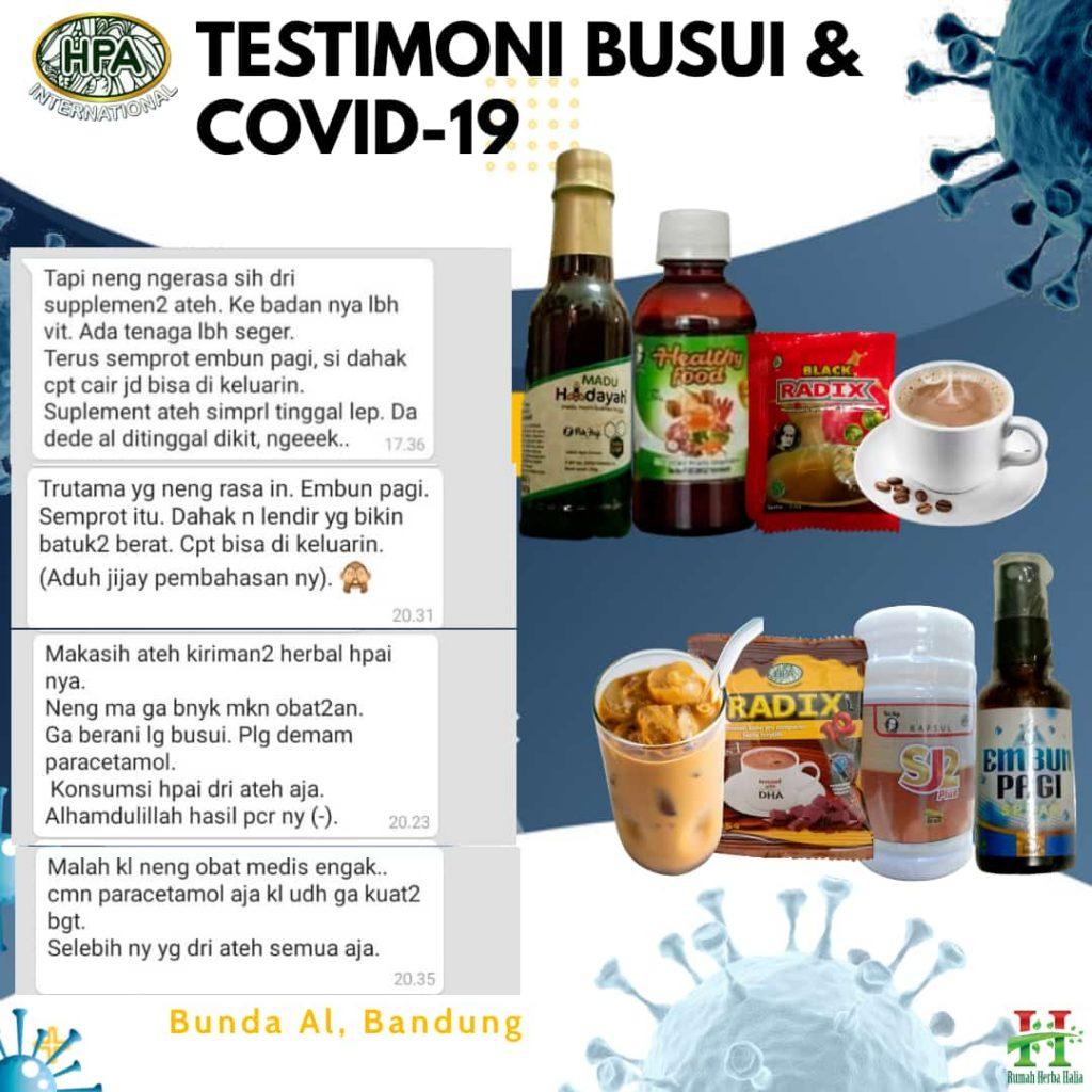 Testimoni COVID-19 untuk Ibu Menyusui