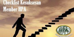 Checklist Kesuksesan Member HPA